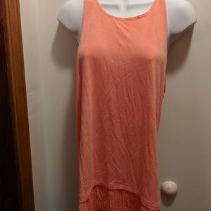 Hollister women's large tank with trim